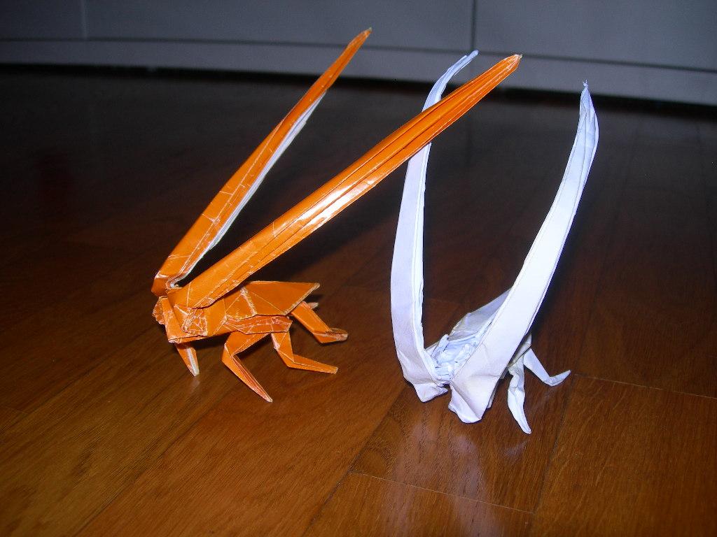 Origami Beetle Longhorn